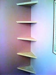 wall mounted corner shelf best home decor ideas floating bookshelf kitchen island teak furniture argos shelves