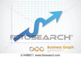 Business Profit Graph Clipart