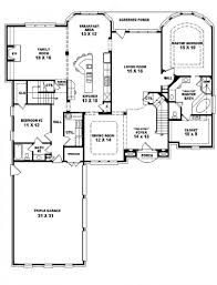 4 Bedroom One Story House Plans Classic With Image Of 4 Bedroom House Plans 4 Bedroom 3 Bath 2 Story