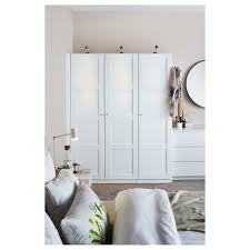 ikea pax wardrobe lighting. Pax Wardrobe White Bergsbo 150x60x201 Cm Ikea New Lighting