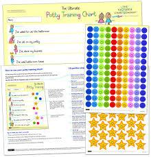 Amazon.com : Potty training sticker chart (from 2yrs) - Ultimate ...