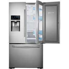 see through refrigerator. Food Showcase French Door Refrigerator In Stainless Steel, Counter See Through N
