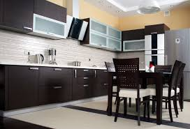 Subway Tile Floor Kitchen Alluring Black And White Floor Kitchen Subway Tiles With Glossy