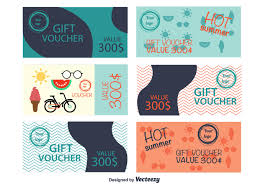 voucher vector art 1538 s christmas vouchers summer gift vouchers