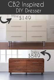 modern diy furniture. CB2 Inspired Modern DIY Dresser Modern Diy Furniture