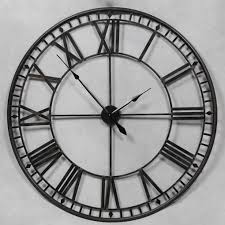 Small Picture LARGE 120CM ANCIENT ANTIQUE BLACK WALL CLOCK carol Pinterest