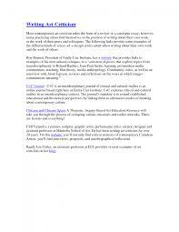 cover letter essay critique example critique essay examples cover letter art critique example essay ostas beginessay critique example large size