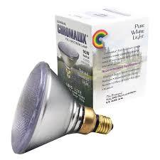 Full Spectrum Halogen Lights Chromalux Full Spectrum Par 38 Lamp 90w Healthlighting Com