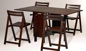 folding dining table set outstanding folding dining table and chairs set at collapsible round dining table