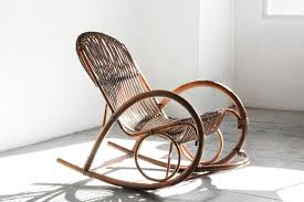Rocking Chair Modern sold mid century modern rattan rocking chair by franco albini 6073 by guidejewelry.us