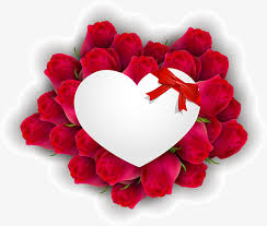 Red Love Flower Love Clipart Flower Clipart Gules PNG Image And Stunning Love Flower Photo Download