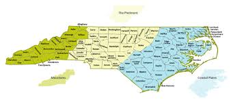 Piedmont My Chart Org Our State Geography In A Snap Three Regions Overview Ncpedia