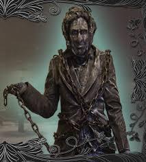 jacob marley human statue