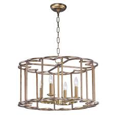 helix bronze fusion four light chandelier