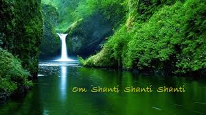 om shanti the peace that peth