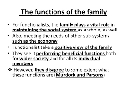 gce sociology revision aqa unit theories of the family