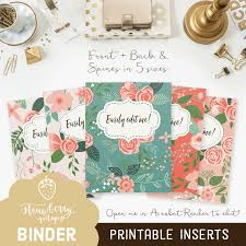 Printable Binder Inserts Inserts For Binders Mwb Online Co