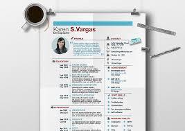 Creative CV template 9, Resume for Expert, original