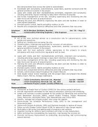 Project Manager Construction Resumes 13 Construction Project Manager Resume Simple Invoice