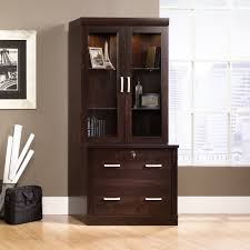 lateral file with hutch set