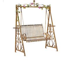wrought iron indoor furniture. wrought iron double swing outdoor rocking chairs hanging baskets park indoor balcony patio lounge chair furniture