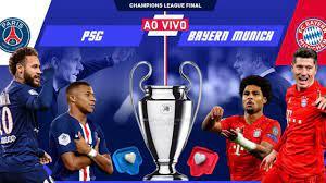 FINAL DA CHAMPIONS LEAGUE 2020: PSG VS BAYERN - AO VIVO, como assistir  gratuitamente? - YouTube