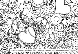 Small Picture Free Abstract Pattern Coloring Page Detailed Psychedelic Art By In