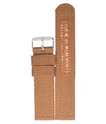 Watch Band Size Chart Kolet 20mm Nylon Watch Strap Band Brown 20mm Size Chart Provided In 3rd Image