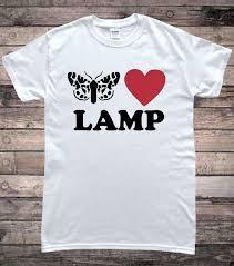 Moth Loves Lamp Moth Lamp Meme T Shirt