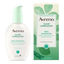 aveeno clear plexion daily moisturizer