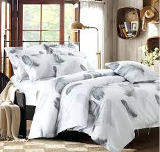 twin bed sheet size black and white bedding set feather duvet cover queen king size full