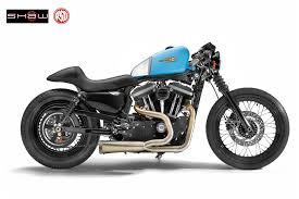 shaw sd custom café sportster the sportster and buell motorcycle forum the xlforum