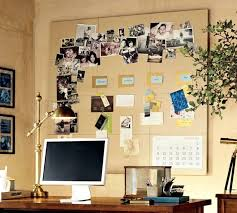 wooden desk ideas. Formal Wooden Desk Ideas For Cute Home Office With Large Bulletin Board Design