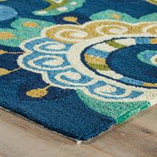 decoration blue and yellow area rugs contemporary rug simple round modern inside regarding 0 from