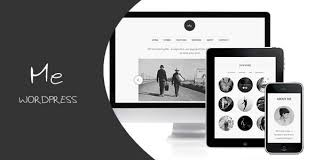 this is the wordpress version of the five start rated html template called me it designed and built with user experience in mind