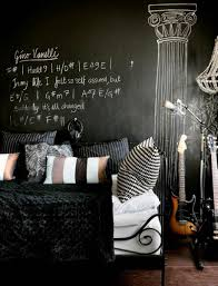 Punk Rock Bedroom When They Insist On Blackits Cool Terrys Fabricss Blog