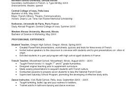 How To Write A Cover Letter In Spanish Language Teacher Resume