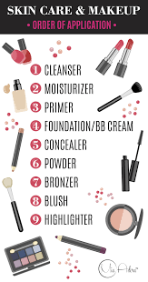 skin care and makeup order of application