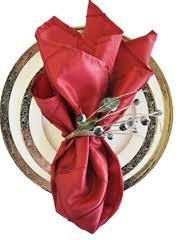 gray satin table napkin table linen wedding napkins 100 pcs free shipping