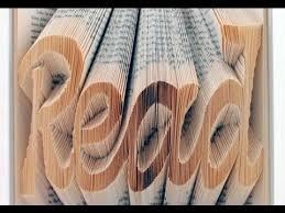 how to do book folding art