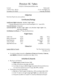 pilot resume templates - Corol.lyfeline.co