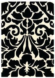 white round area rug black and white round petal rug black white black and brown area
