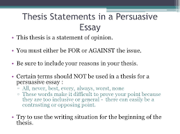 topics for a proposal essay essay on healthcare english essay  interest catchers thesis statements ppt video online thesis statements in a persuasive essay