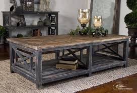Creative Of Rustic Black Coffee Table Astonishing Classic Reclaimed Wood  Coffee Table Black Natural
