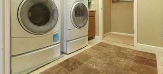 Lovely Laundry Room With Tile Flooring Pictures