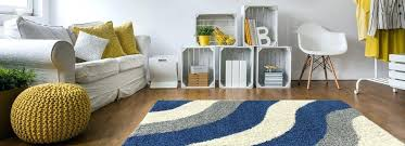 soft area rug geometric striped ivory blue grey gy contemporary rugs for living room bedroom rug area