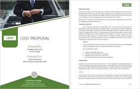 Customizable Ms Word Proposal Templates Office Templates