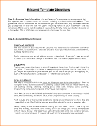 9 Resume Objective Summary Men Weight Chart