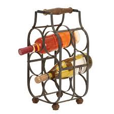 shop woodland imports bottle tabletop wine rack at lowescom