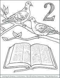 Days Of Creation Coloring Pages Free Days Of Creation Coloring